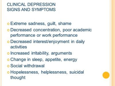 clinical depression depression treatment 1